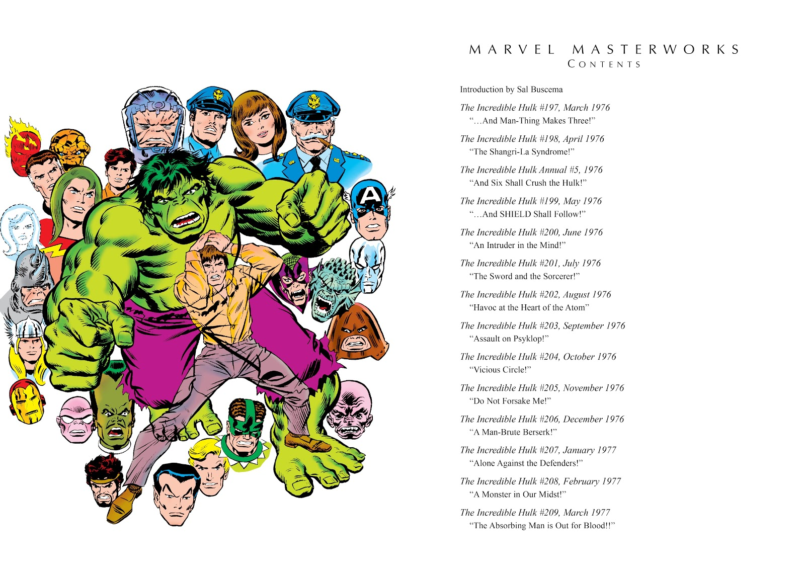 Read online Marvel Masterworks: The Incredible Hulk comic -  Issue # TPB 12 (Part 1) - 4