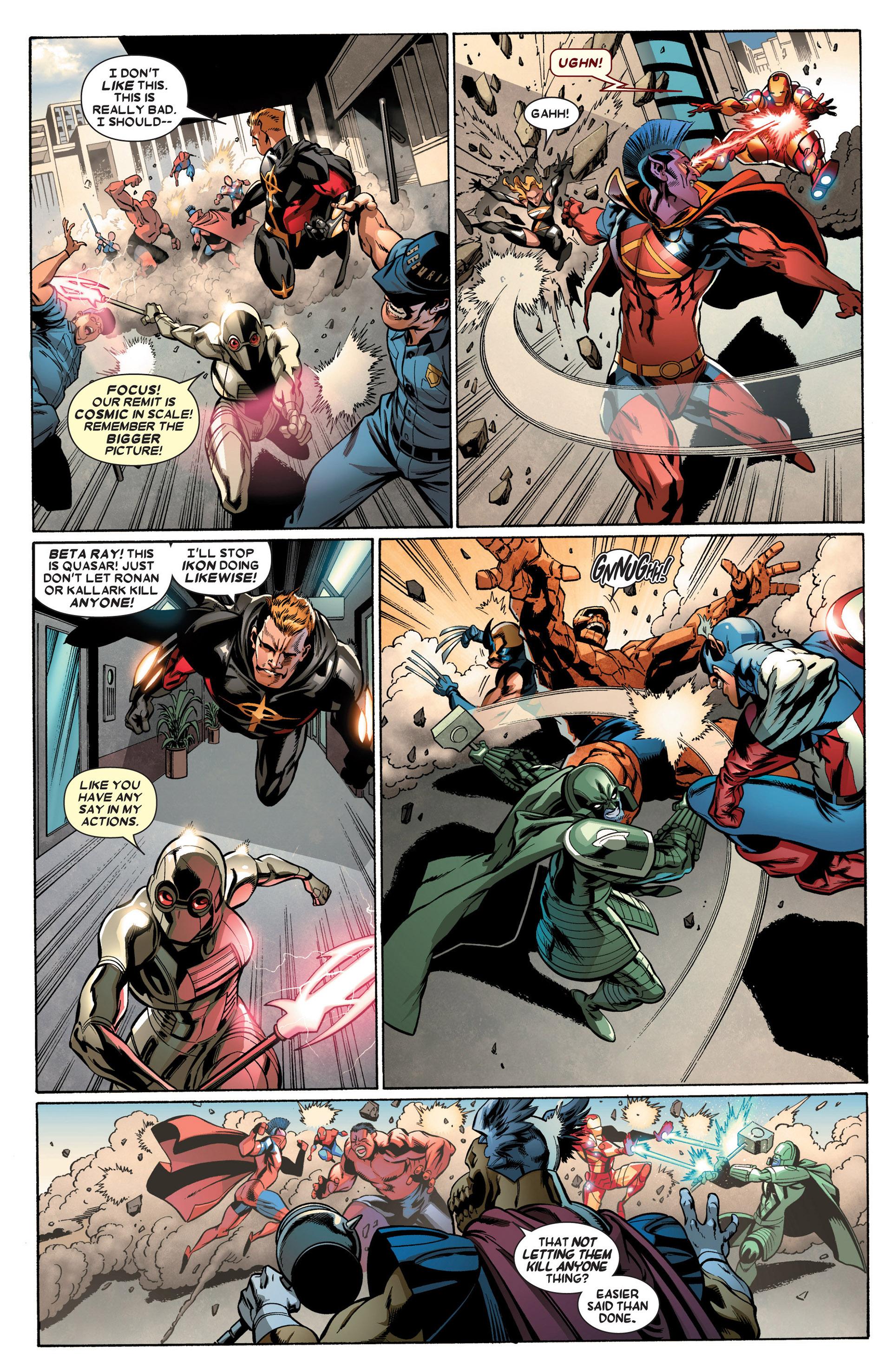 Read online Annihilators: Earthfall comic -  Issue #2 - 6