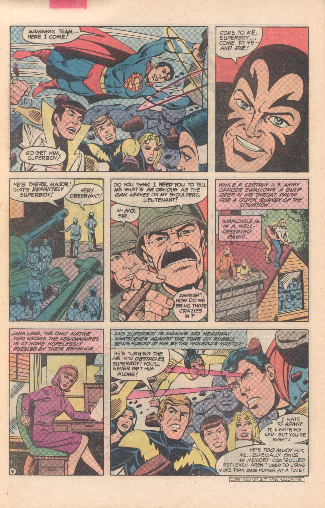 Legion of Super-Heroes (1980) 281 Page 18