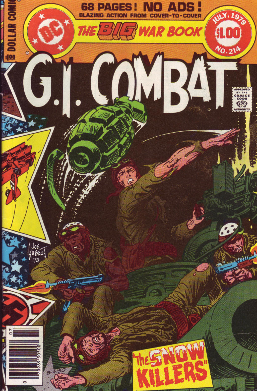 G.I. Combat (1952) issue 214 - Page 1