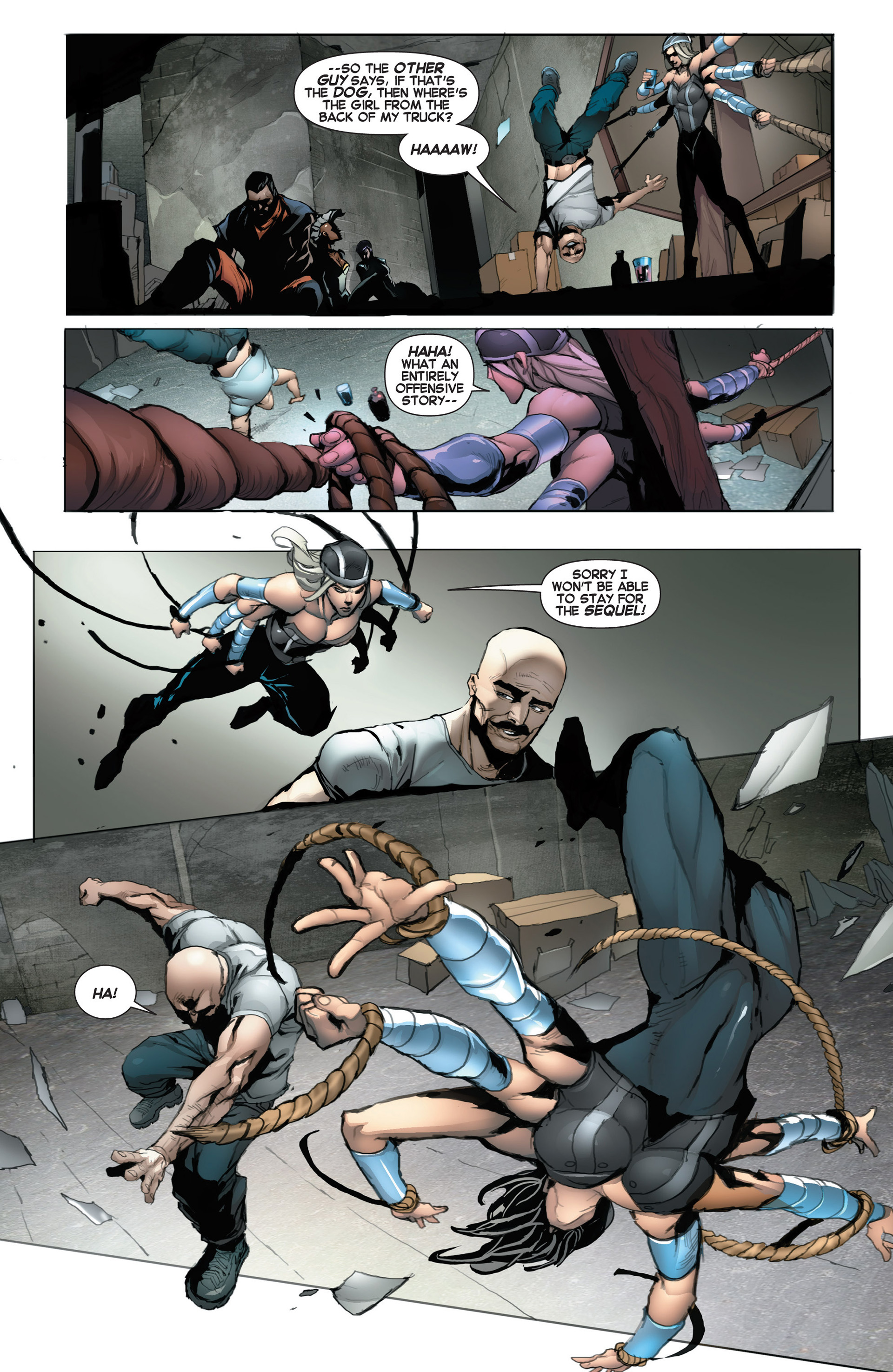 Read online Uncanny X-Force (2013) comic -  Issue #5 - 20