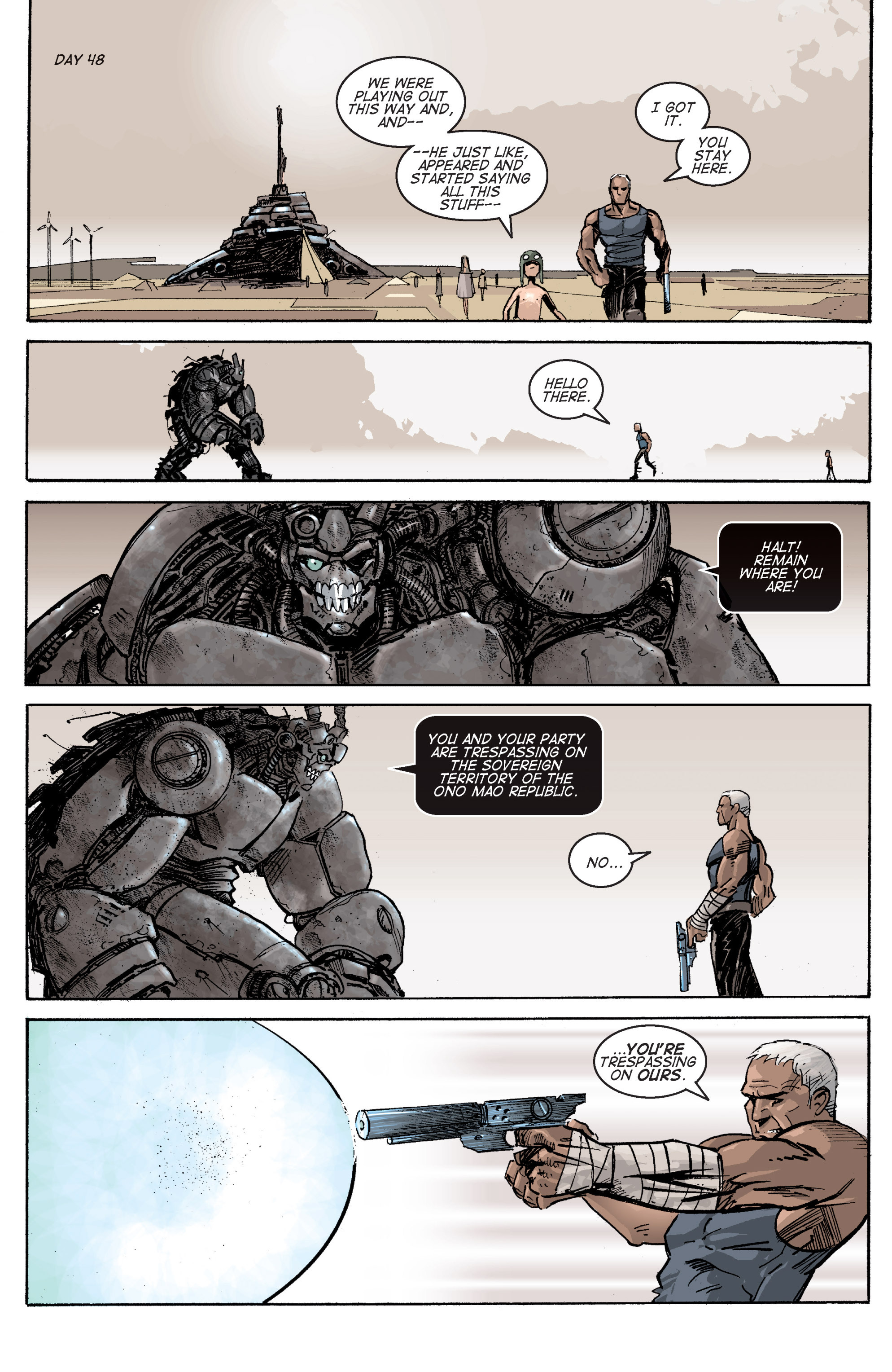 Read online Planetoid comic -  Issue # TPB - 87