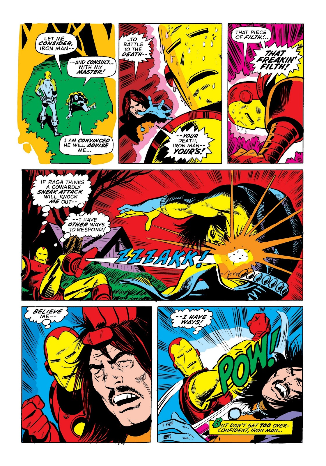 Read online Marvel Masterworks: The Invincible Iron Man comic -  Issue # TPB 8 (Part 3) - 109