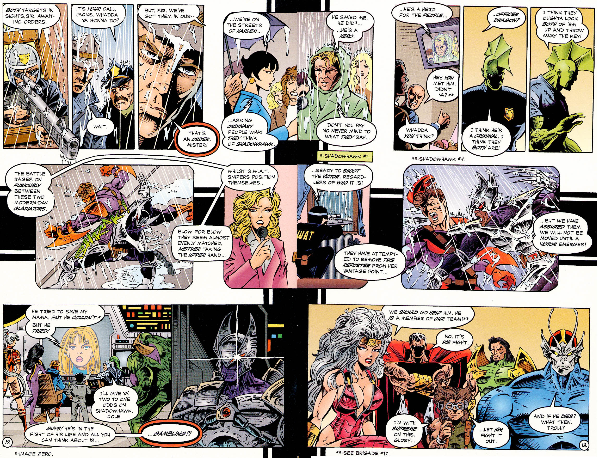 Read online ShadowHawk comic -  Issue #18 - 18