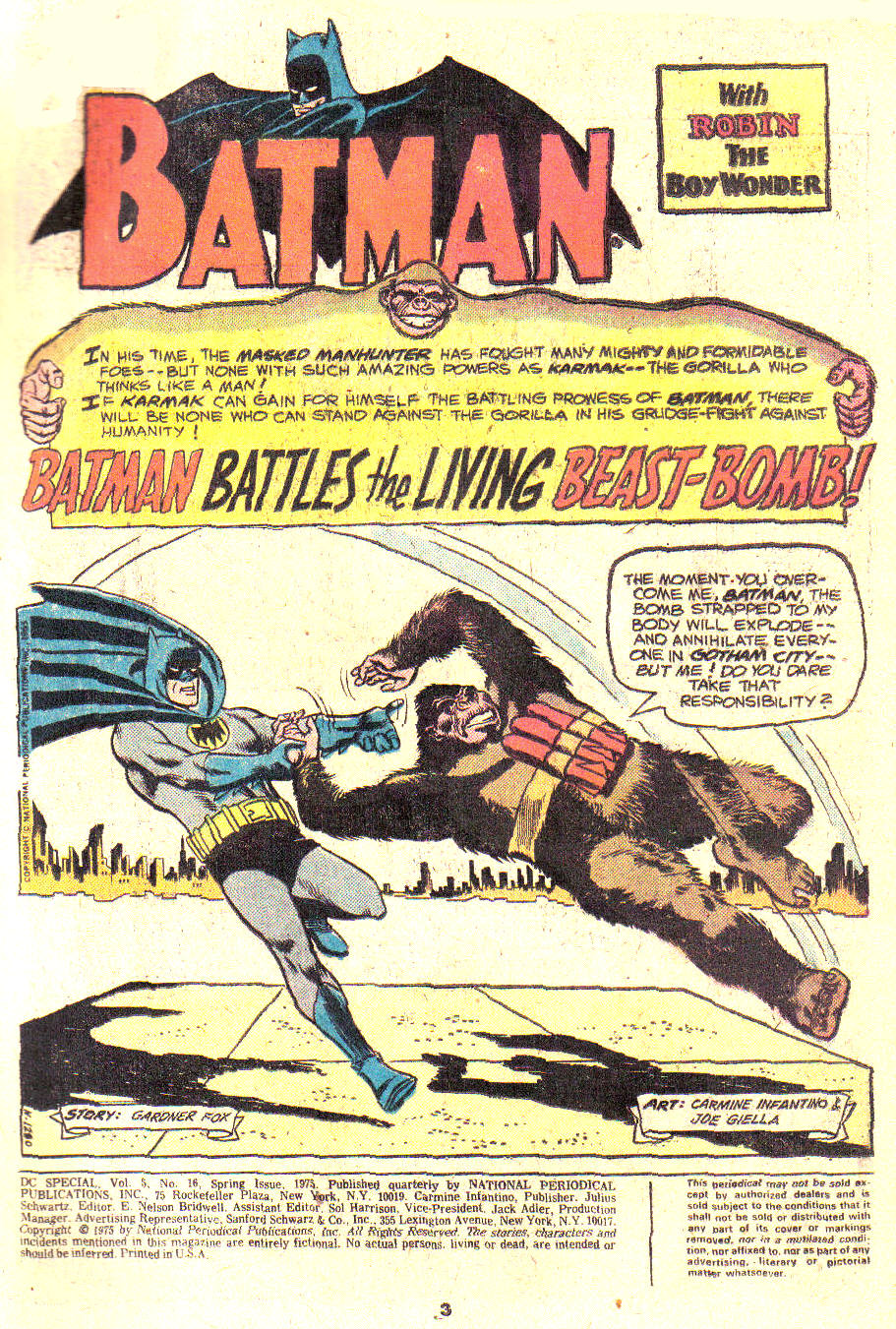 DC Special (1975) issue 16 - Page 3