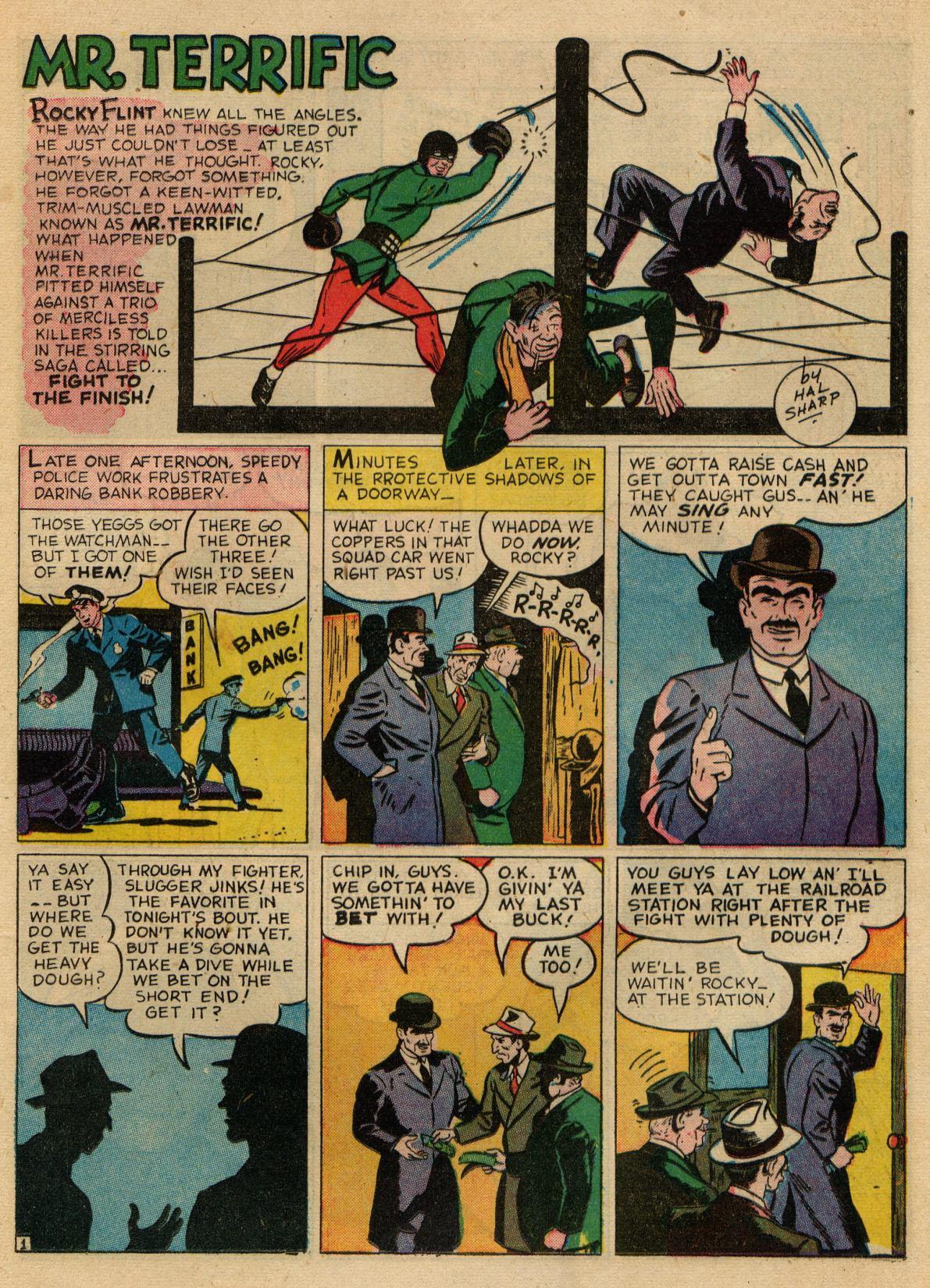 Read online Sensation (Mystery) Comics comic -  Issue #22 - 42