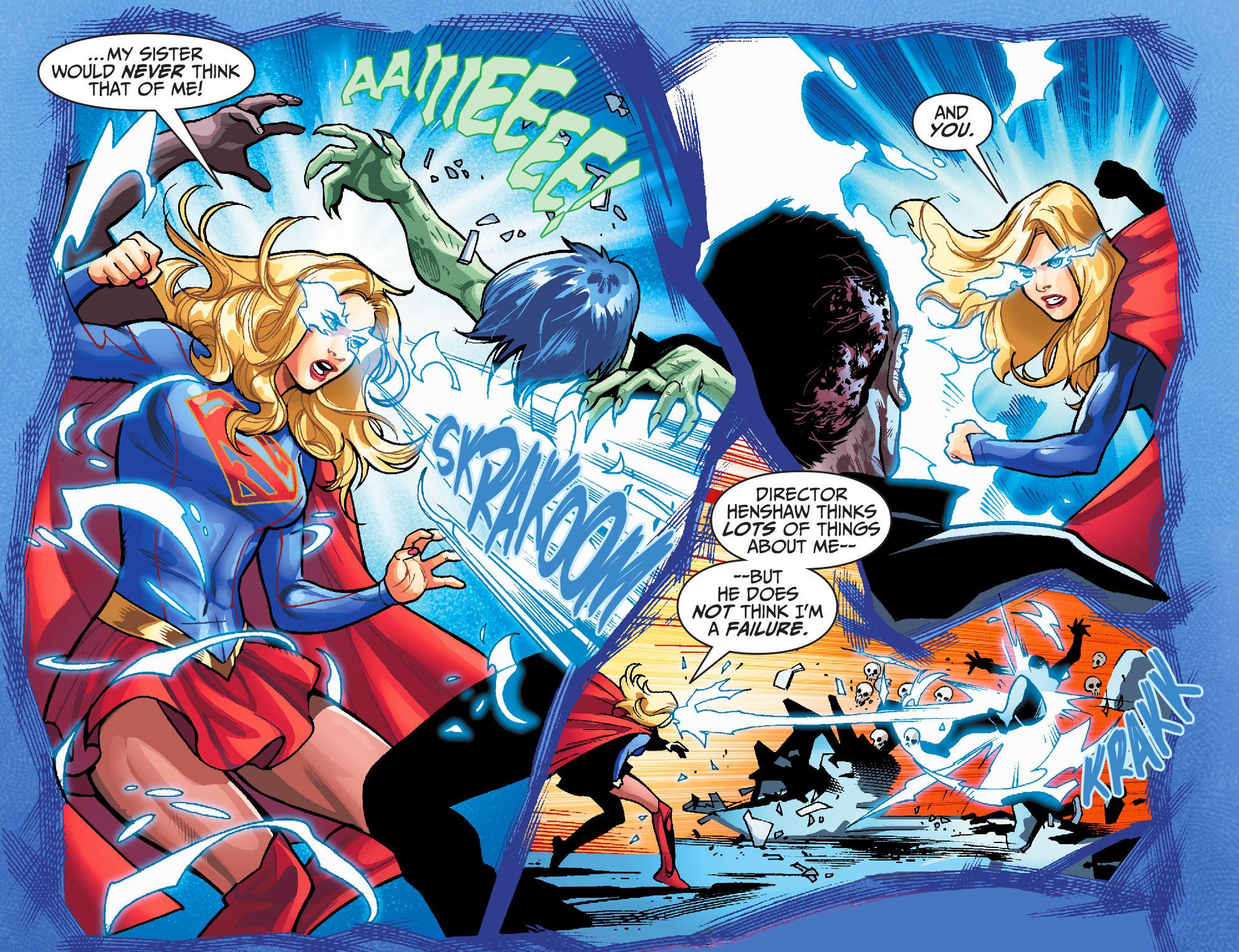 Read online Adventures of Supergirl comic -  Issue #6 - 17