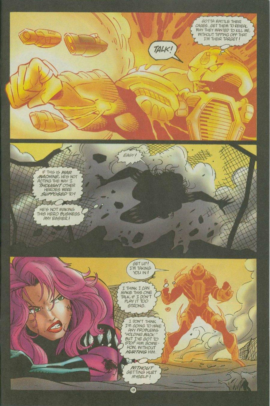 Read online Siren comic -  Issue #1 - 20
