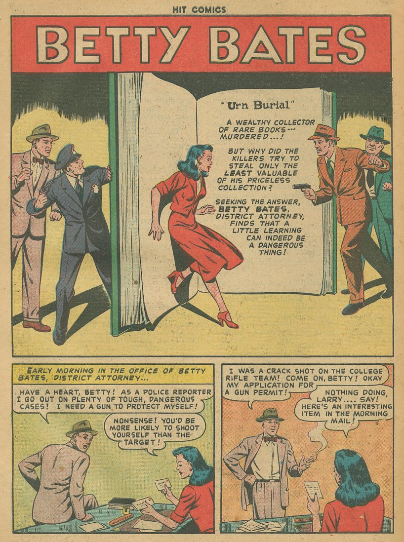 Read online Hit Comics comic -  Issue #61 - 28