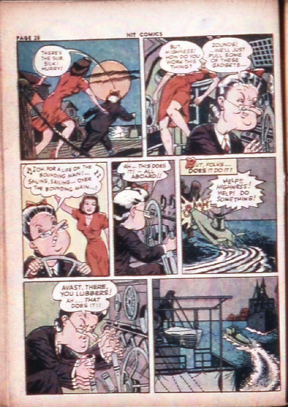 Read online Hit Comics comic -  Issue #29 - 30