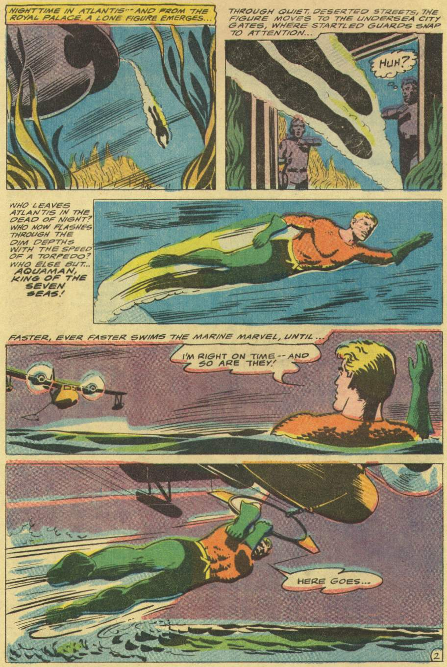 Read online Aquaman (1962) comic -  Issue #29 - 4
