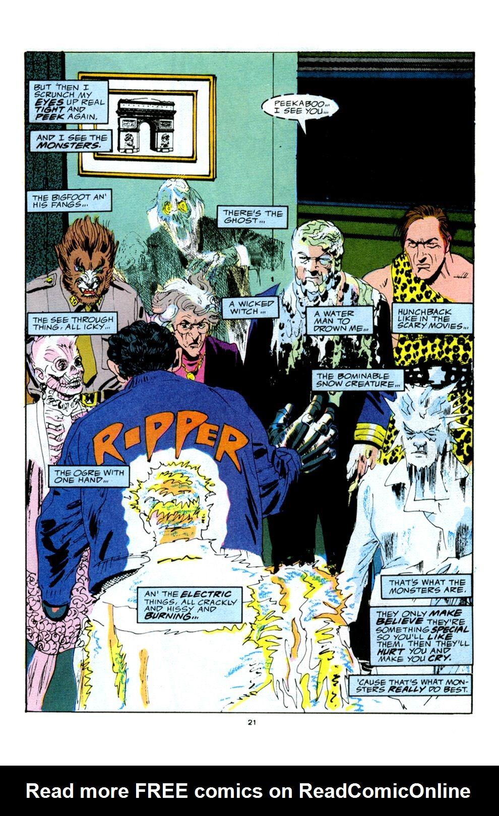 Read online Powerline comic -  Issue #5 - 23