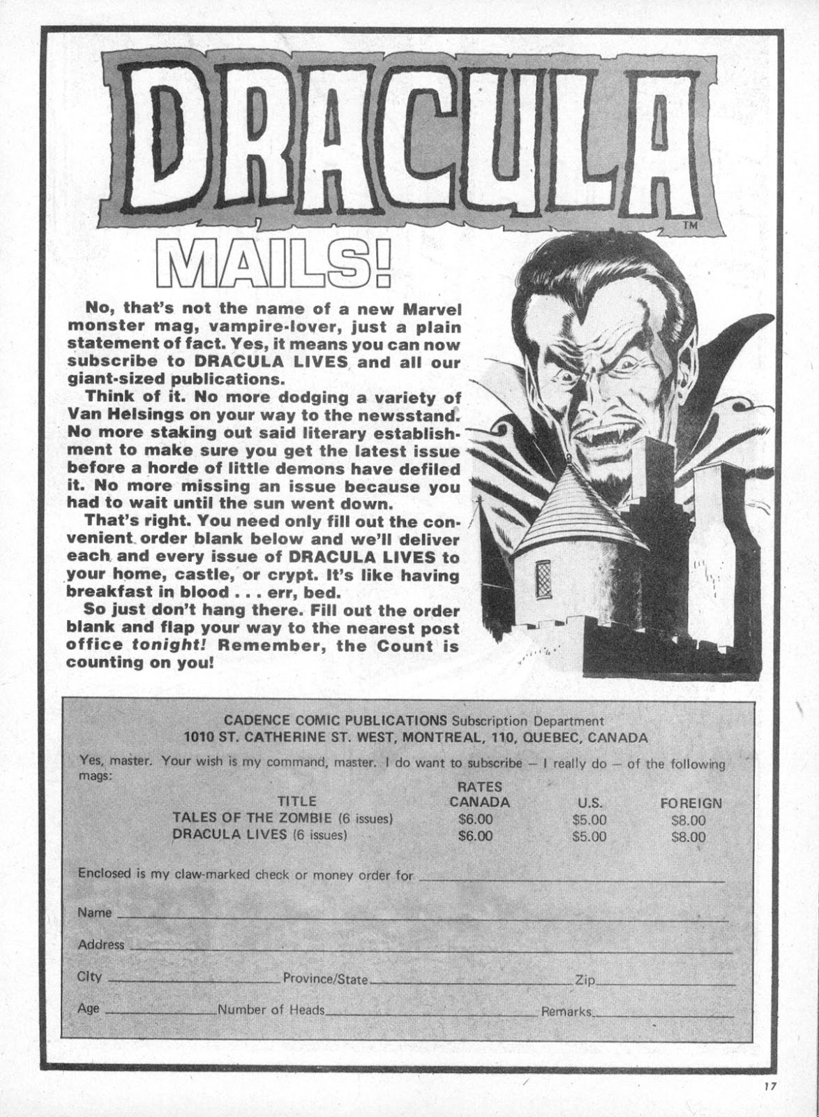 Dracula Lives issue 5 - Page 18