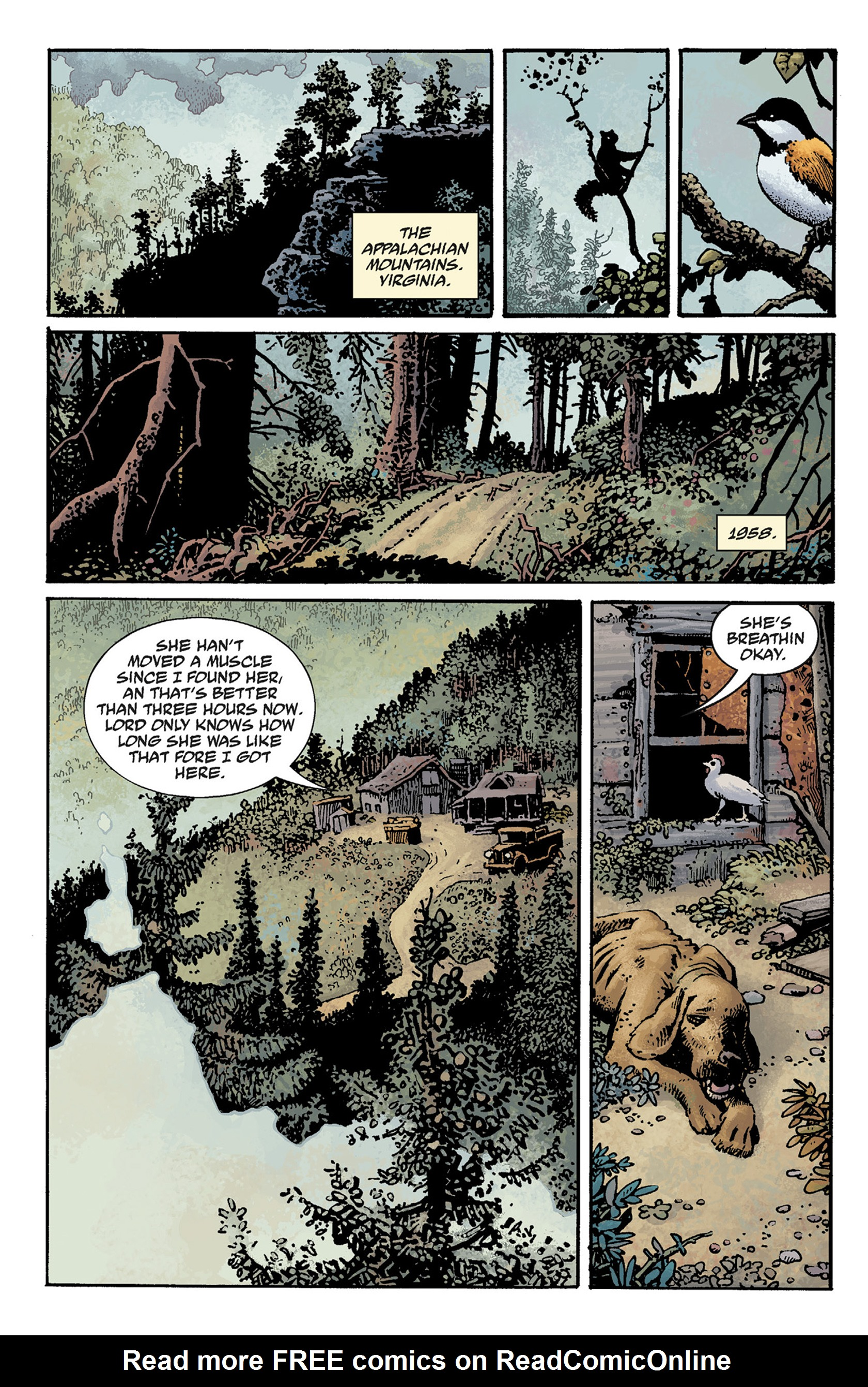 Read online Hellboy: The Crooked Man and Others comic -  Issue # TPB - 10