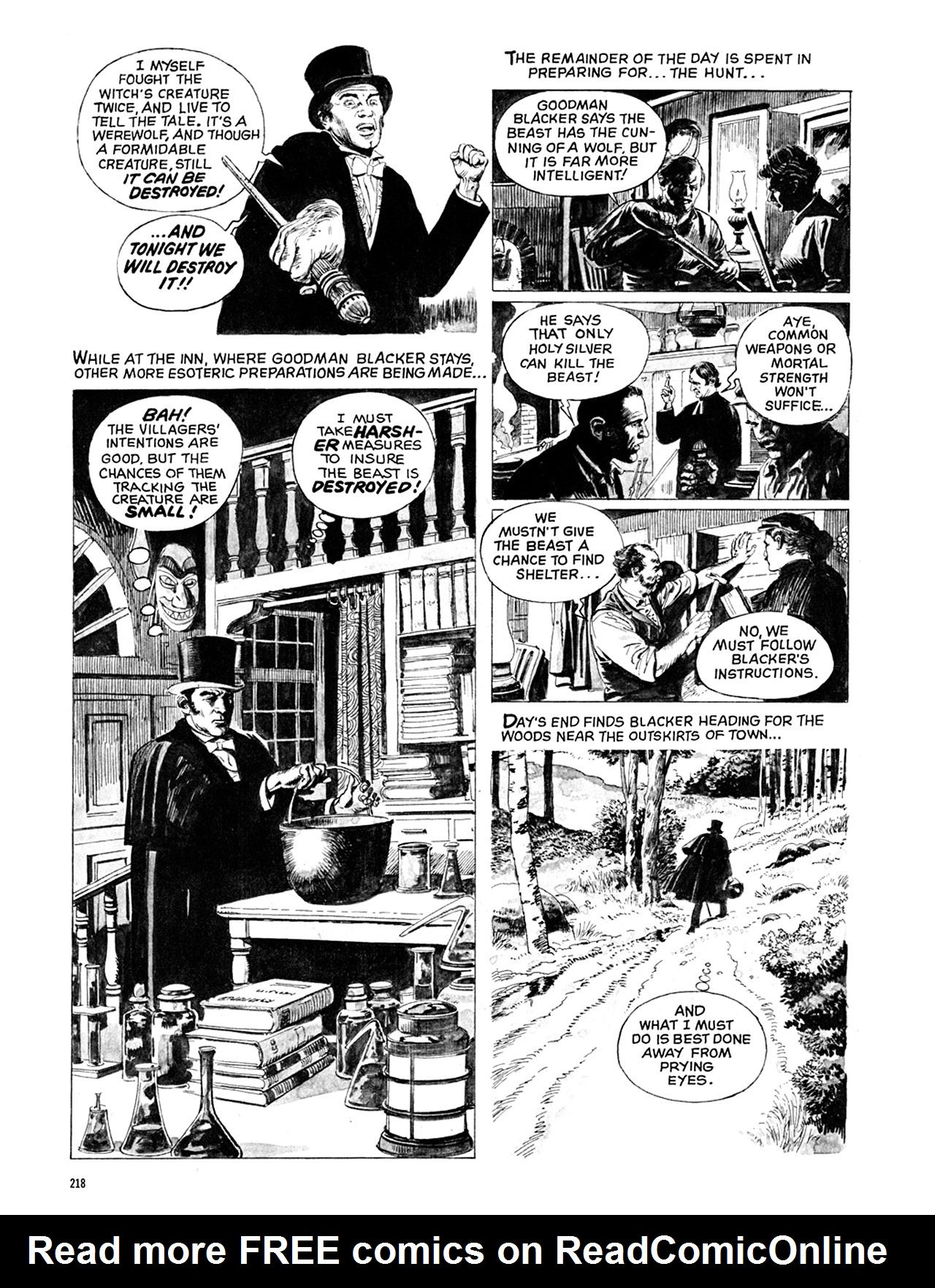Read online Eerie Archives comic -  Issue # TPB 10 - 219