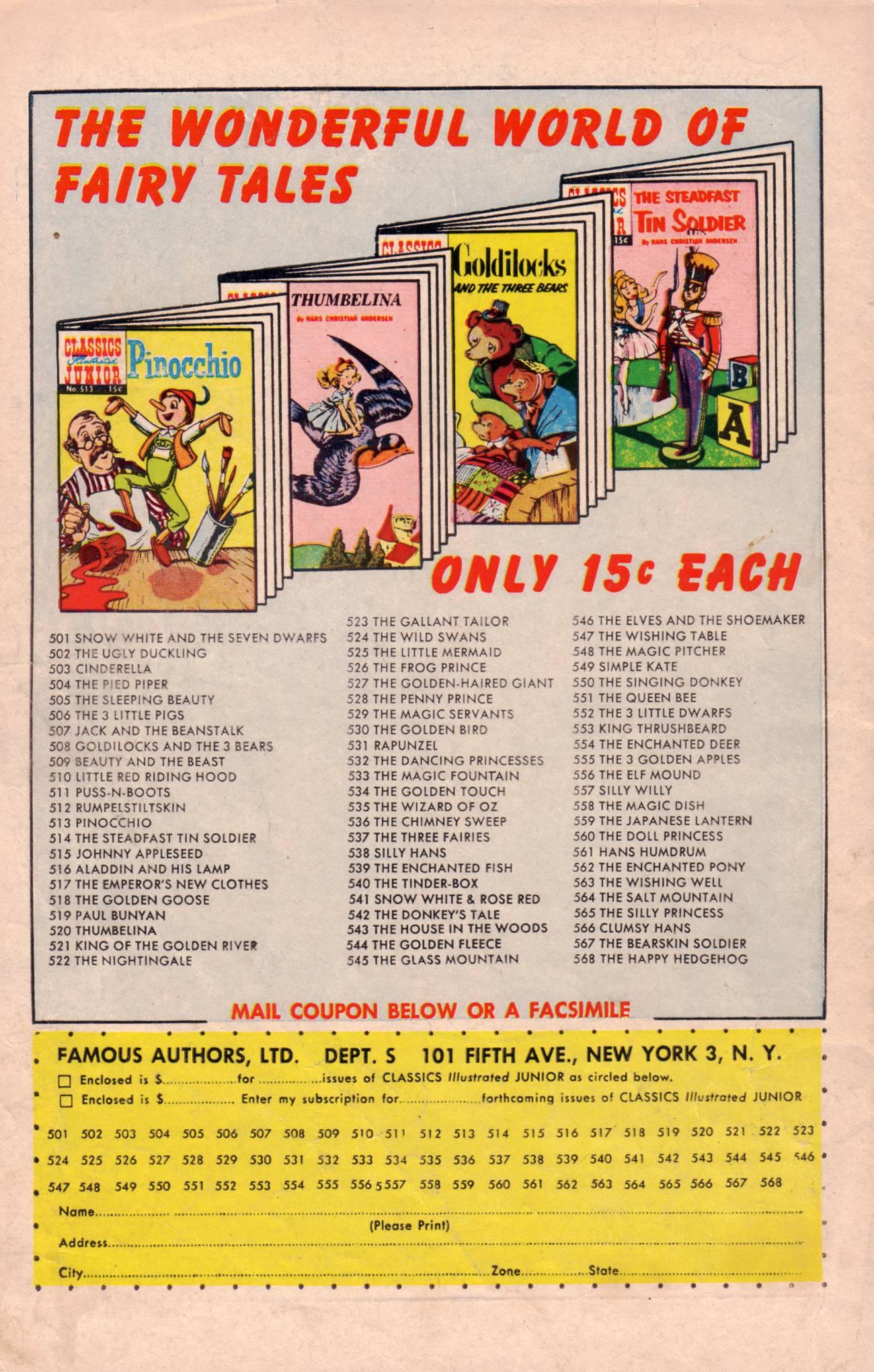 Classics Illustrated Junior 520 Page 36
