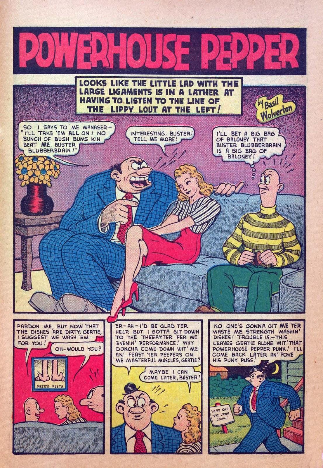 Read online Joker Comics comic -  Issue #5 - 59