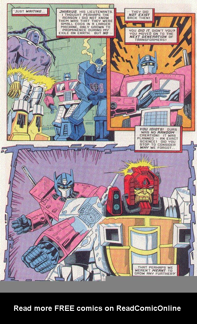 Read online Transformers: Generation 2 comic -  Issue #5 - 15