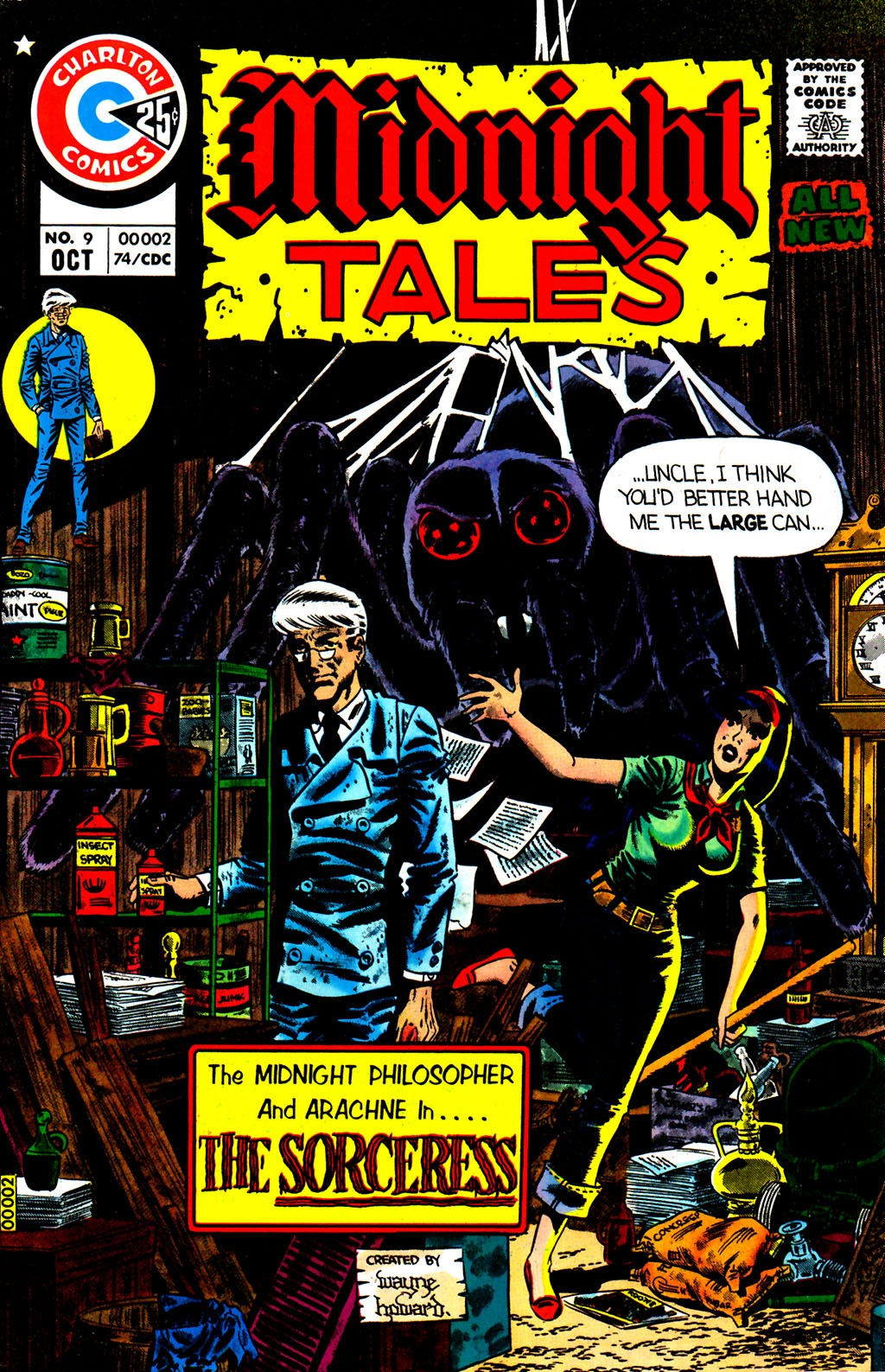 Midnight Tales issue 9 - Page 1