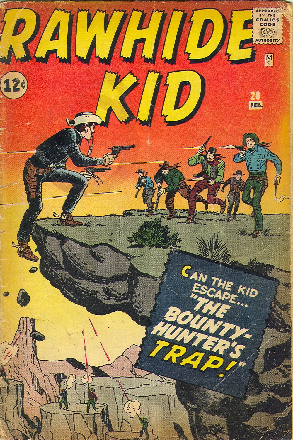 The Rawhide Kid (1955) issue 26 - Page 1