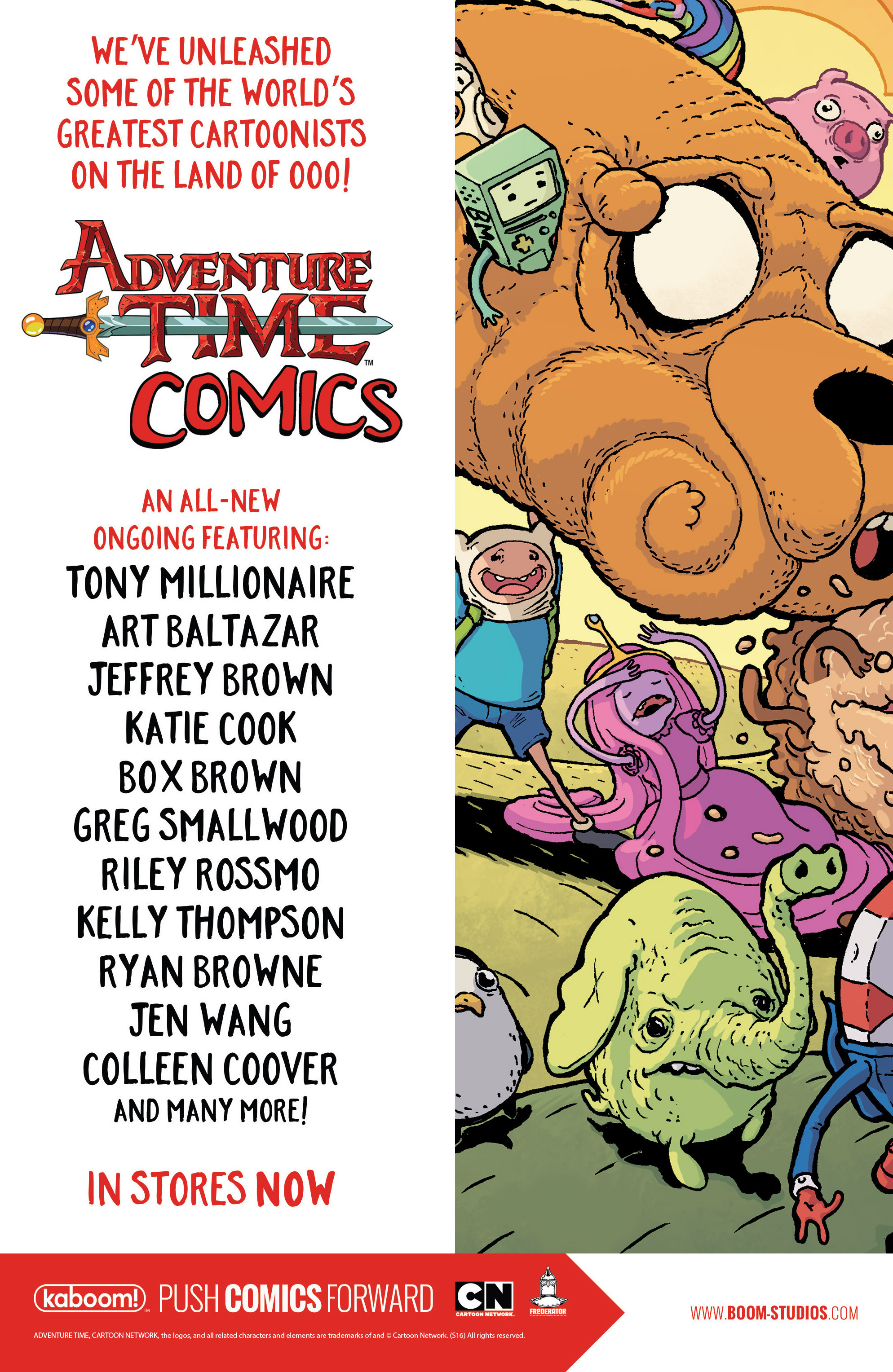 Read online Adventure Time comic -  Issue #56 - 27