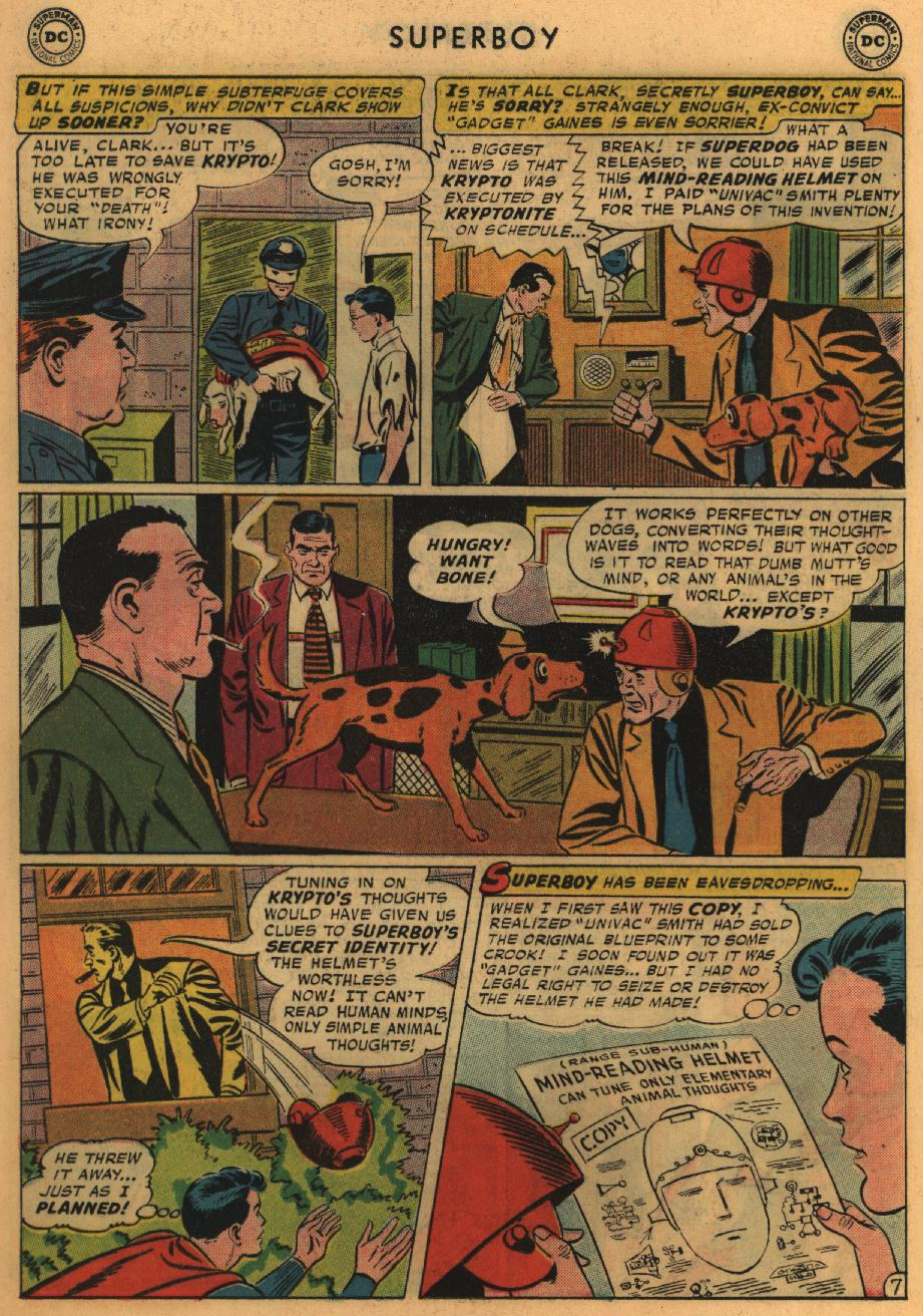 Superboy (1949) issue 67 - Page 18