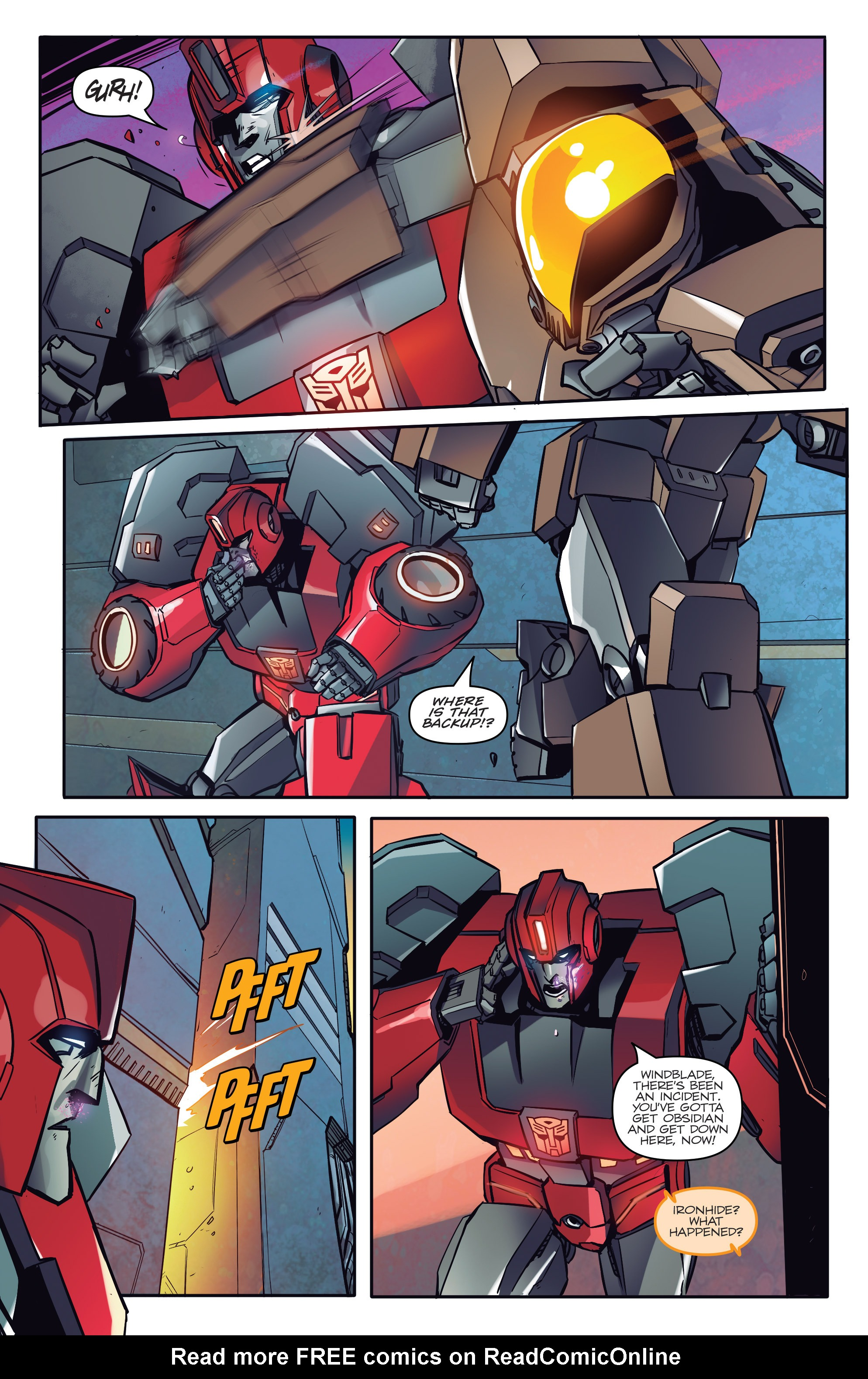 Read online Transformers: Till All Are One comic -  Issue #1 - 16