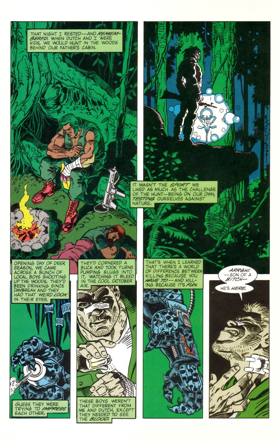Predator (1989) issue 2 - Page 16