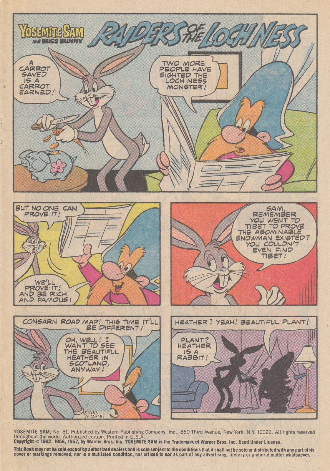 Yosemite Sam and Bugs Bunny issue 81 - Page 3