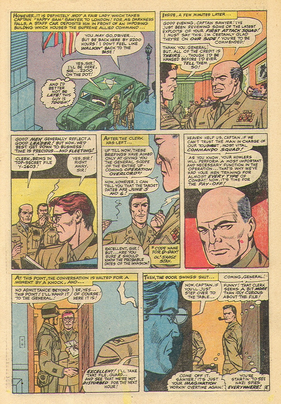 Read online Sgt. Fury comic -  Issue #92 - 29
