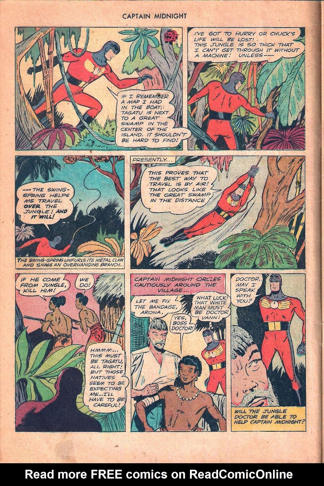 Captain Midnight (1942) issue 53 - Page 8