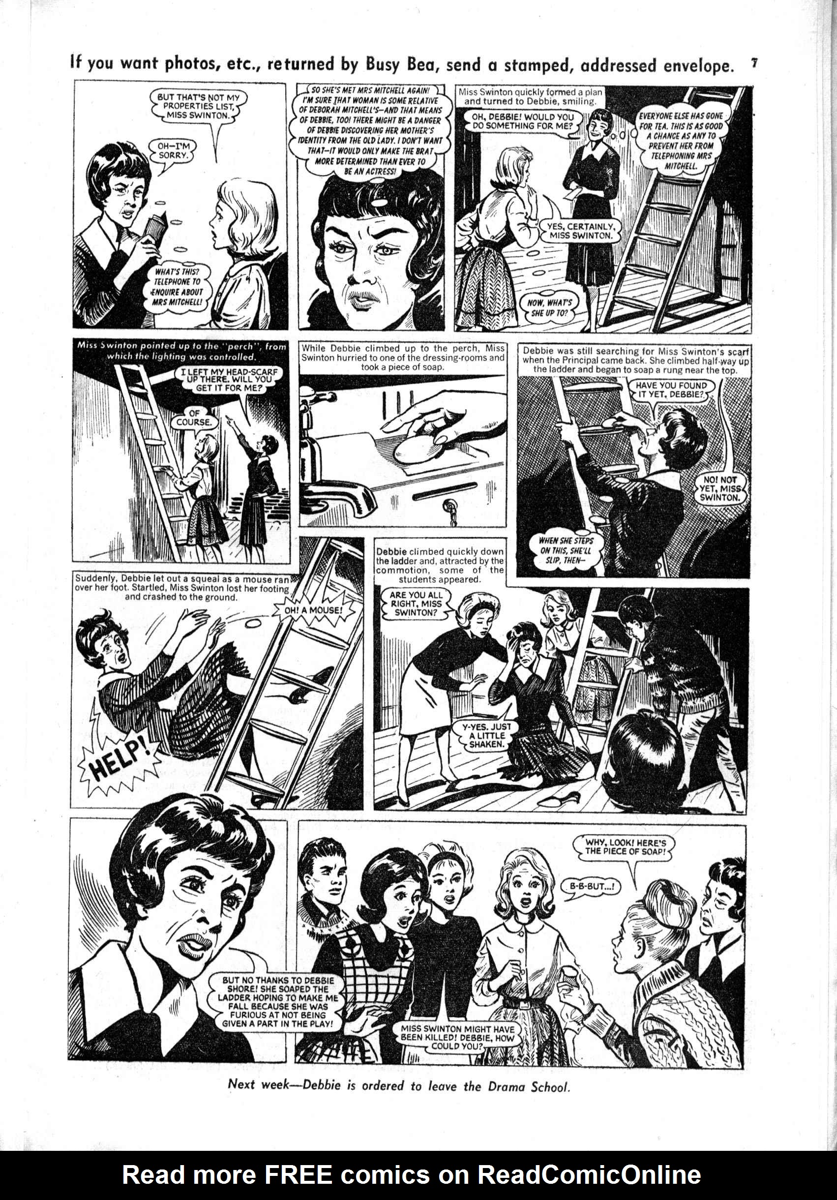 Read online Judy comic -  Issue #165 - 7