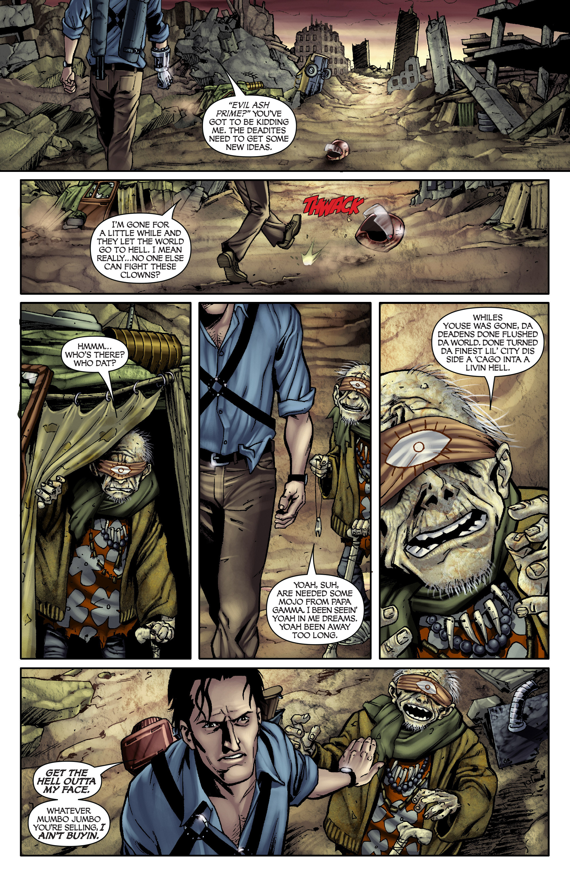 Read online Army of Darkness: From the Ashes comic -  Issue #Army of Darkness: From the Ashes TPB - 23