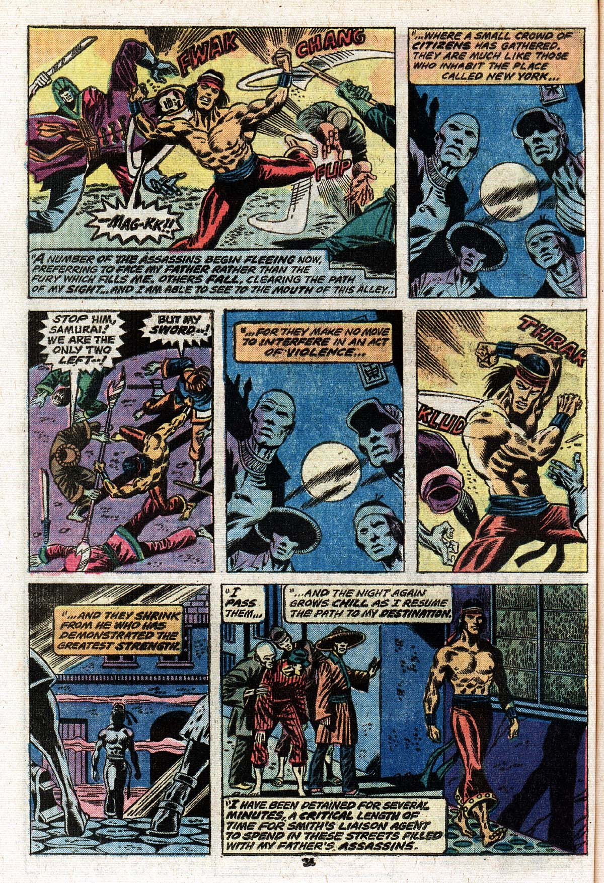 Read online Giant-Size Master of Kung Fu comic -  Issue #2 - 28