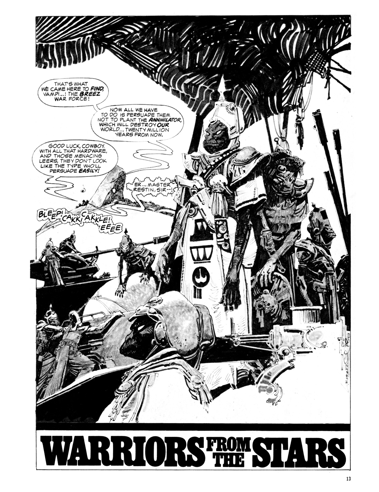 Read online Eerie Archives comic -  Issue # TPB 20 - 13