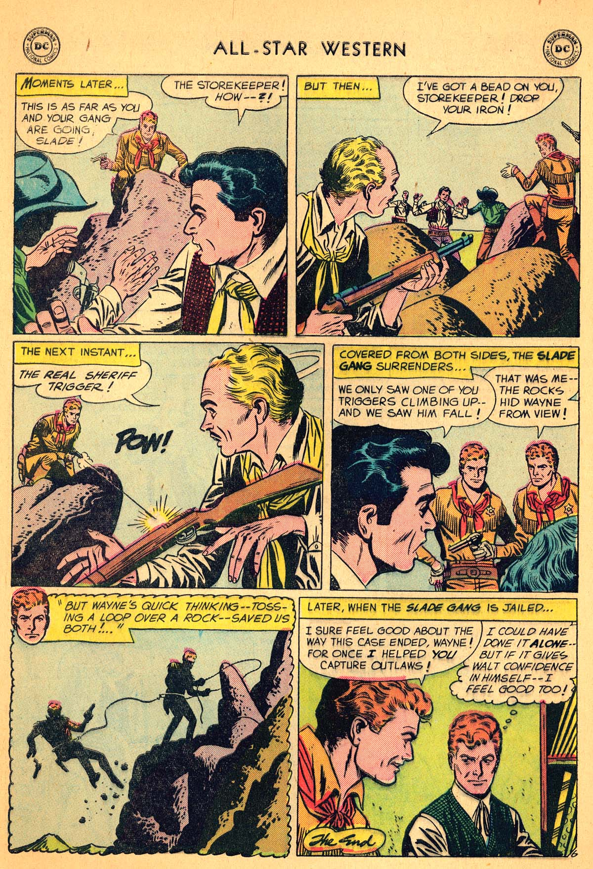 Read online All-Star Western (1951) comic -  Issue #99 - 8