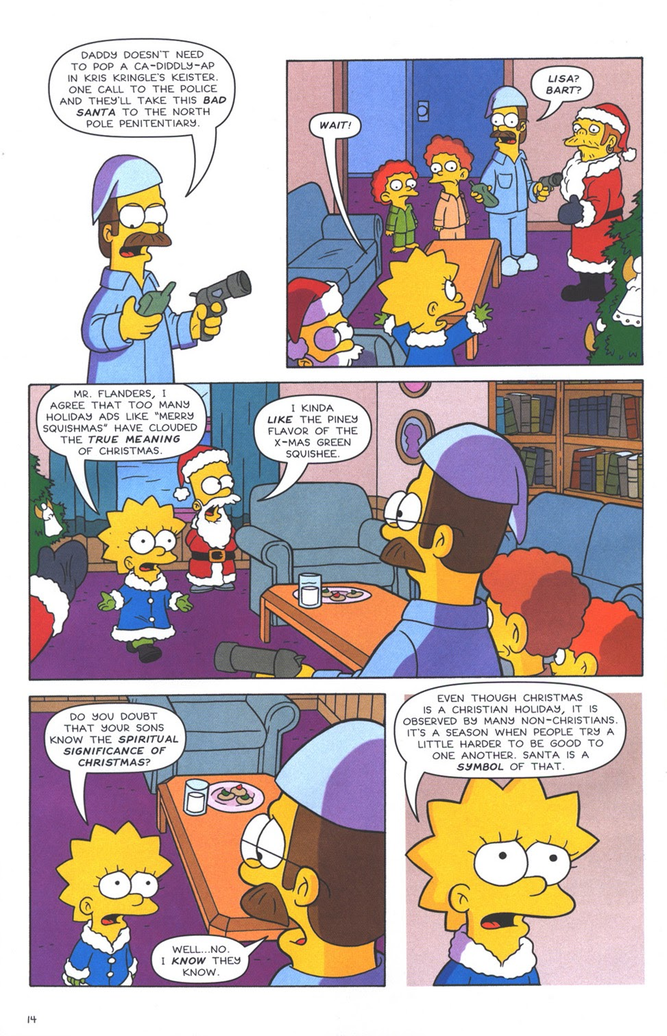 Read online The Simpsons Winter Wingding comic -  Issue #3 - 16