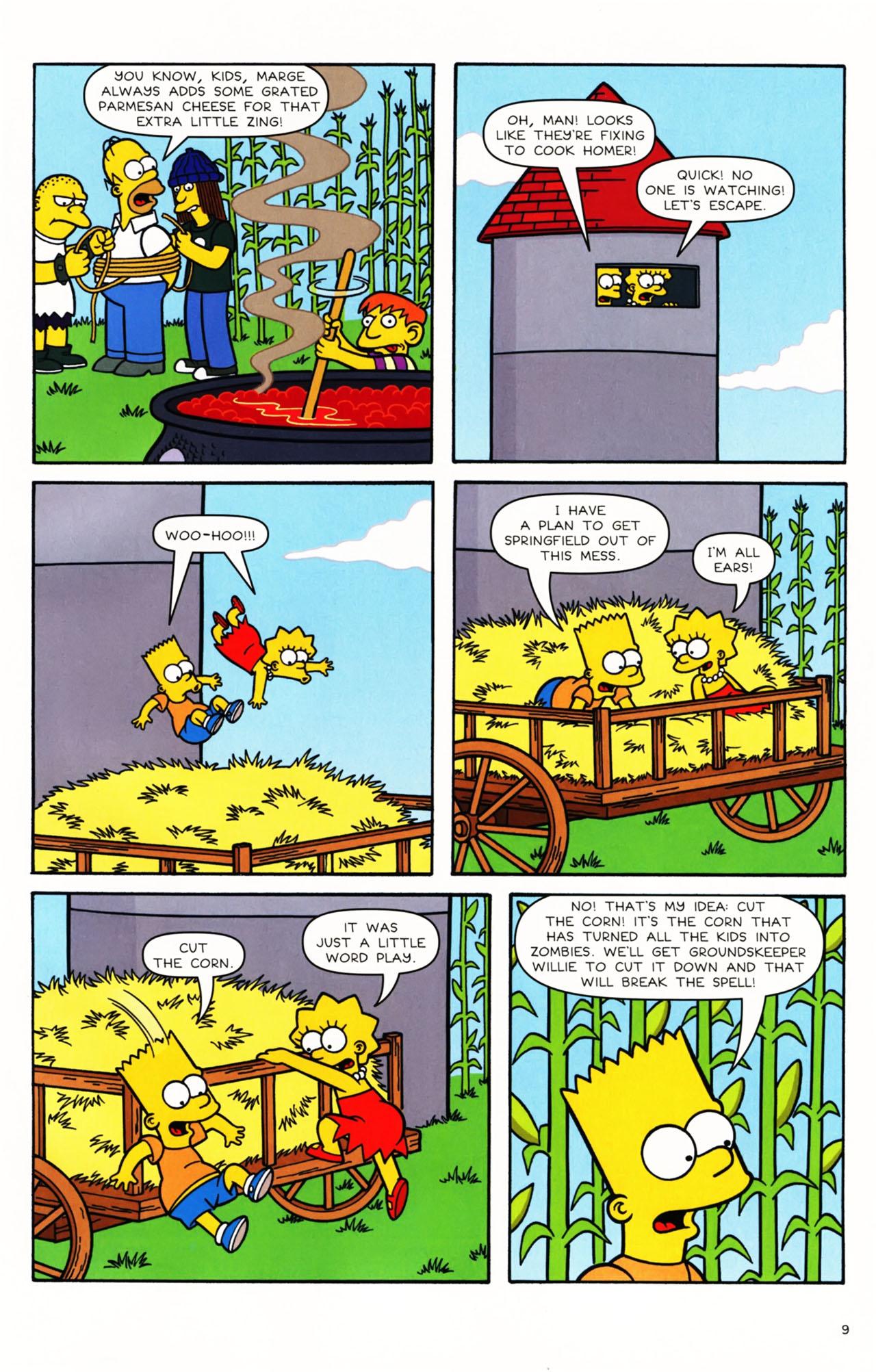 Read online Simpsons Comics Presents Bart Simpson comic -  Issue #49 - 10