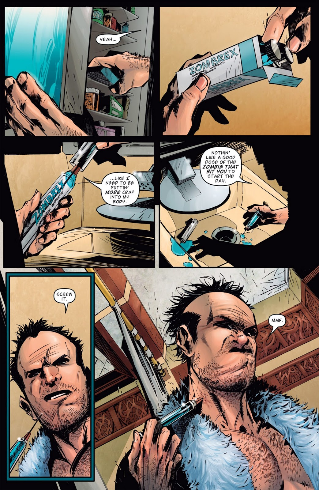 Read online Dead Rising: Road to Fortune comic -  Issue #1 - 15