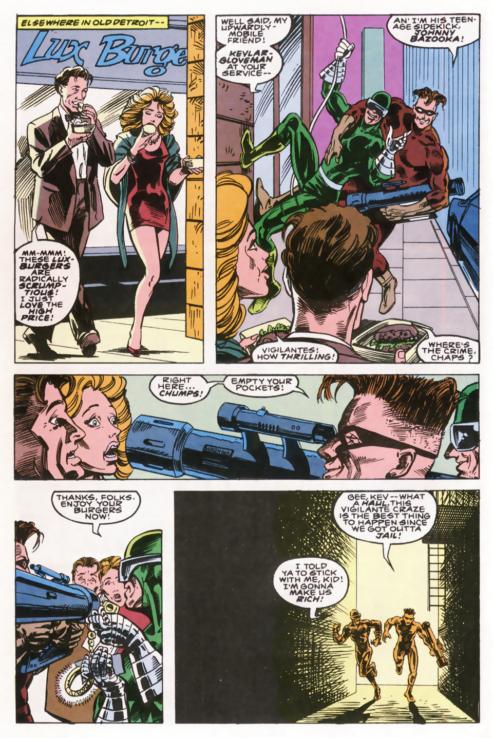 Read online Robocop (1990) comic -  Issue #10 - 5