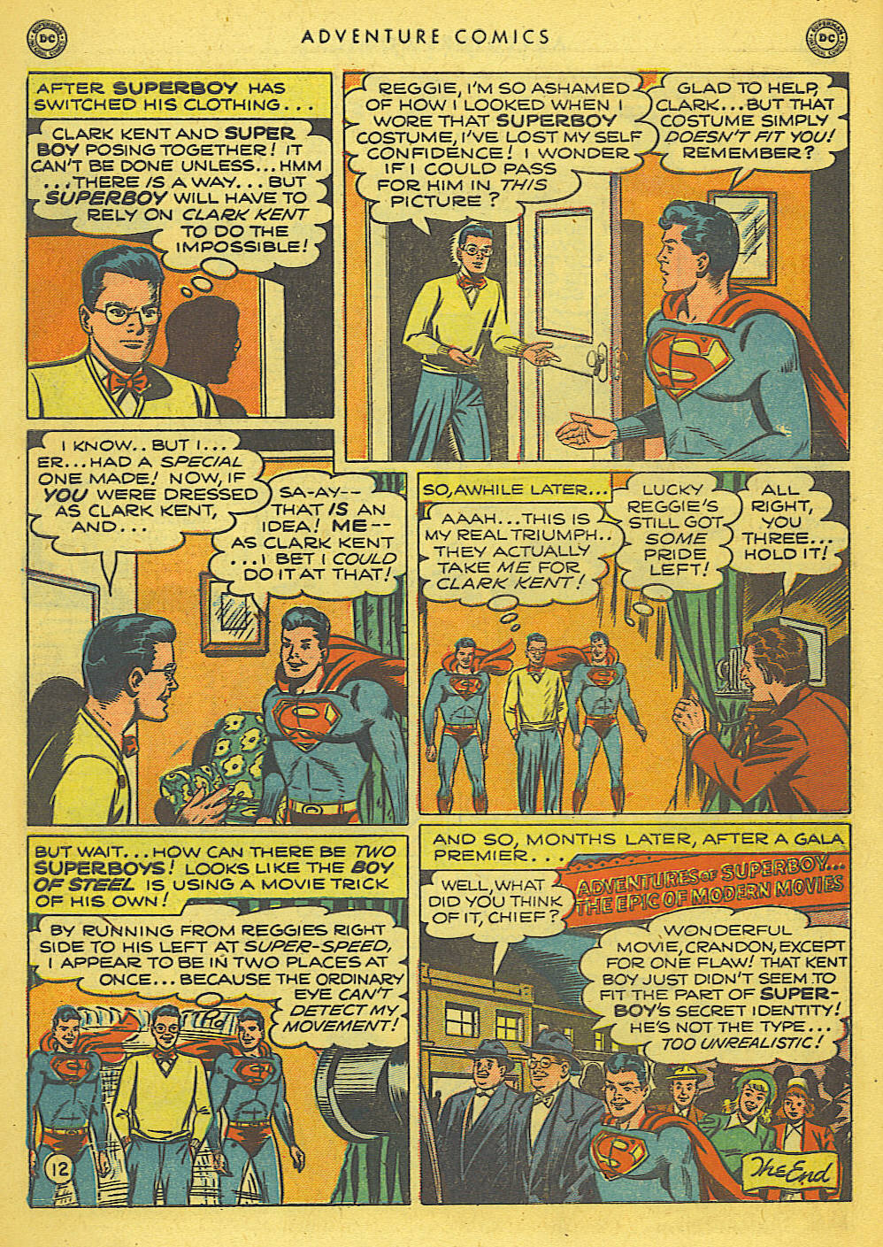 Read online Adventure Comics (1938) comic -  Issue #155 - 14
