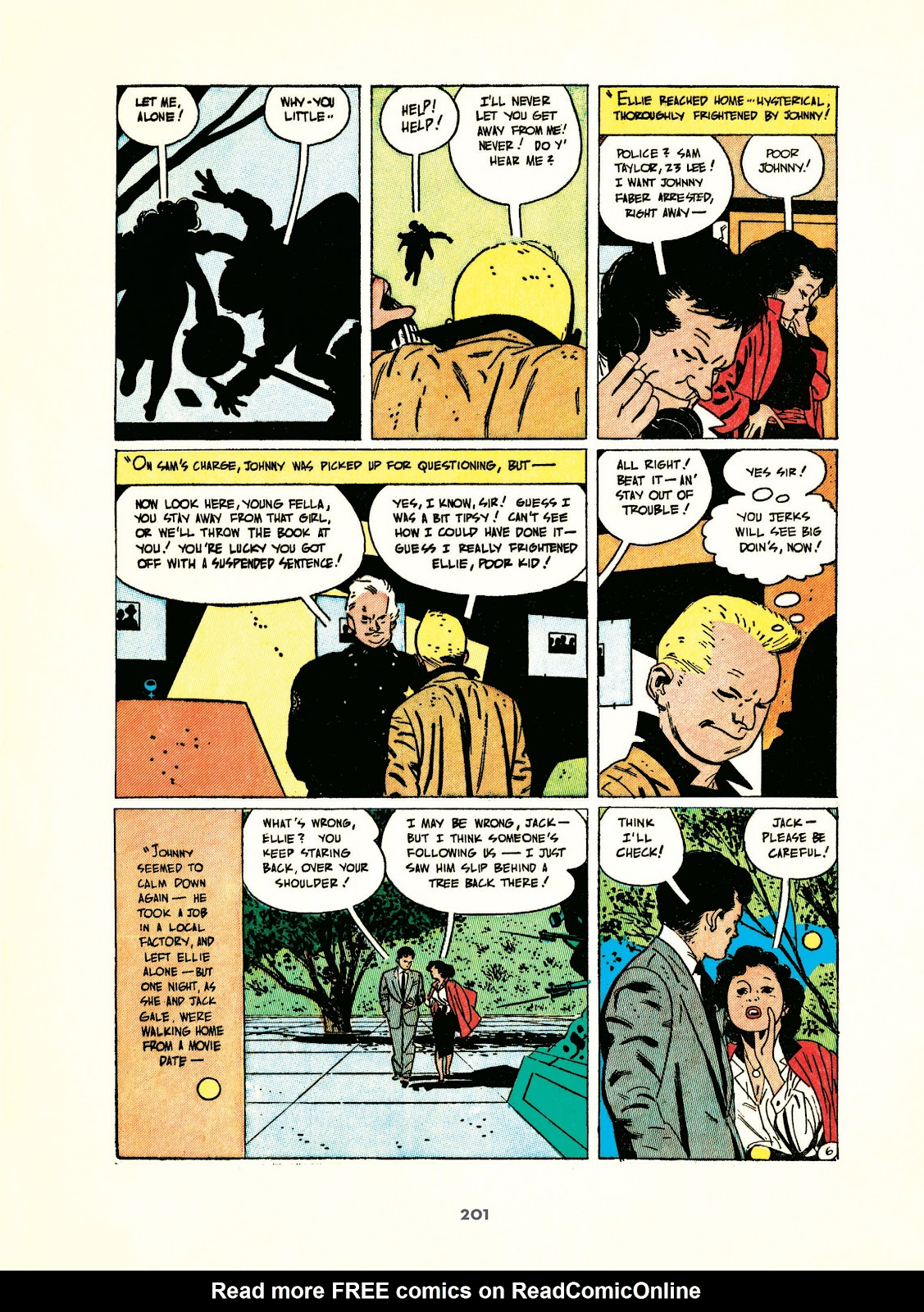 Read online Setting the Standard: Comics by Alex Toth 1952-1954 comic -  Issue # TPB (Part 3) - 2