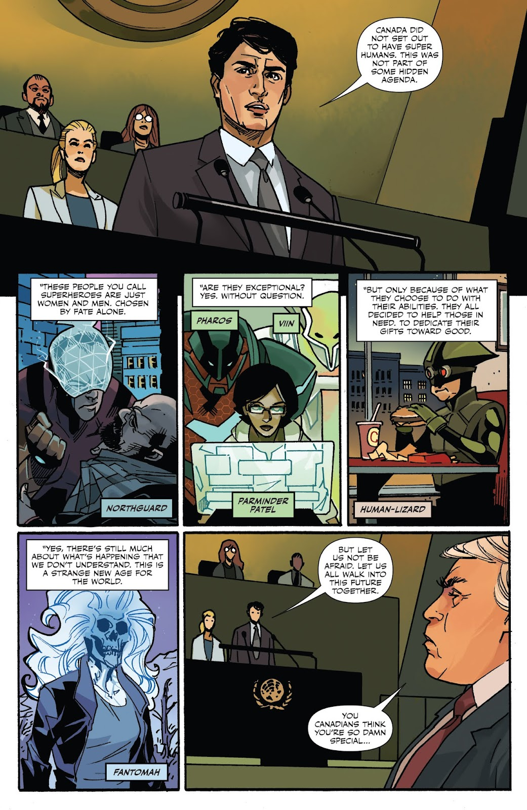 Captain Canuck: Invasion (Canada Day 2018) issue Full - Page 5
