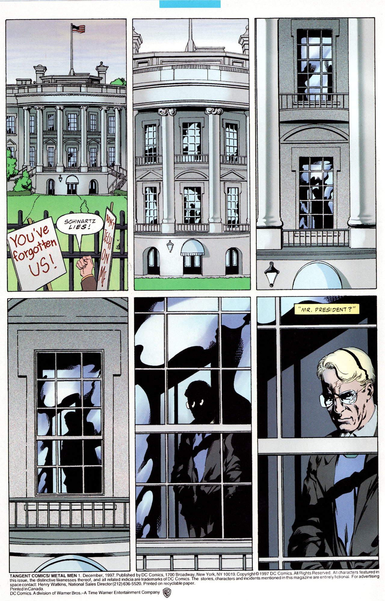 Read online Tangent Comics/ Metal Men comic -  Issue # Full - 3