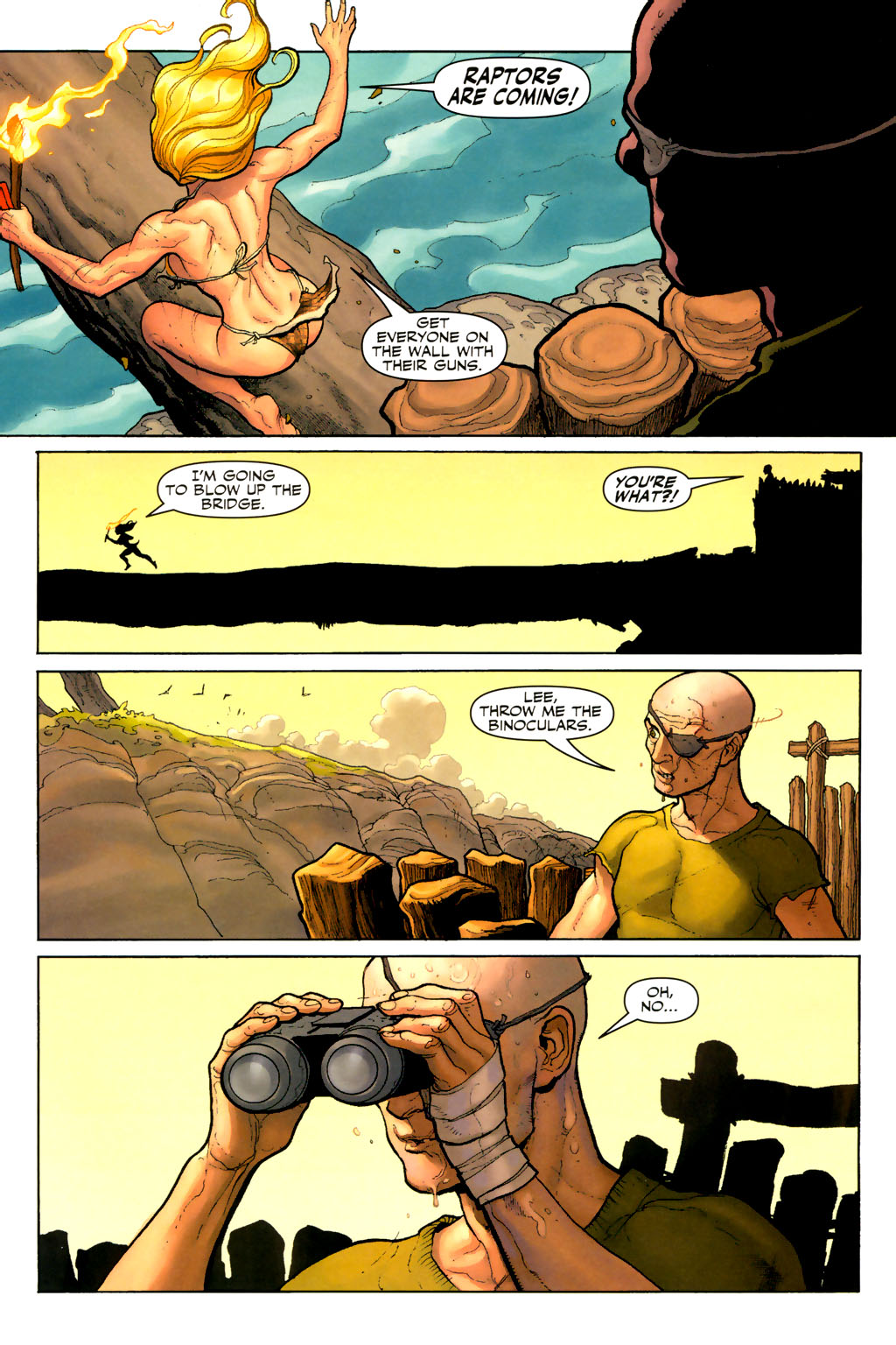 Read online Shanna, the She-Devil (2005) comic -  Issue #7 - 4