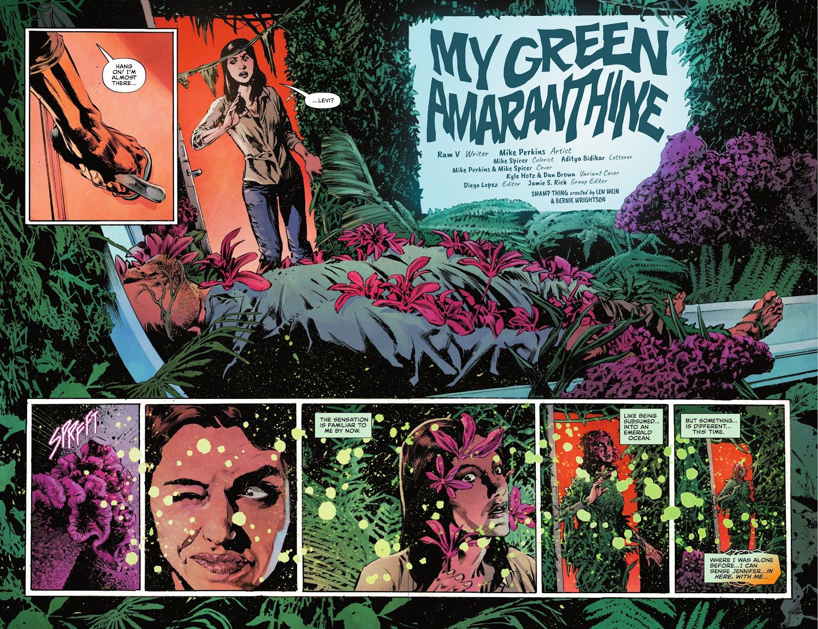 The Swamp Thing issue 3 - Page 5