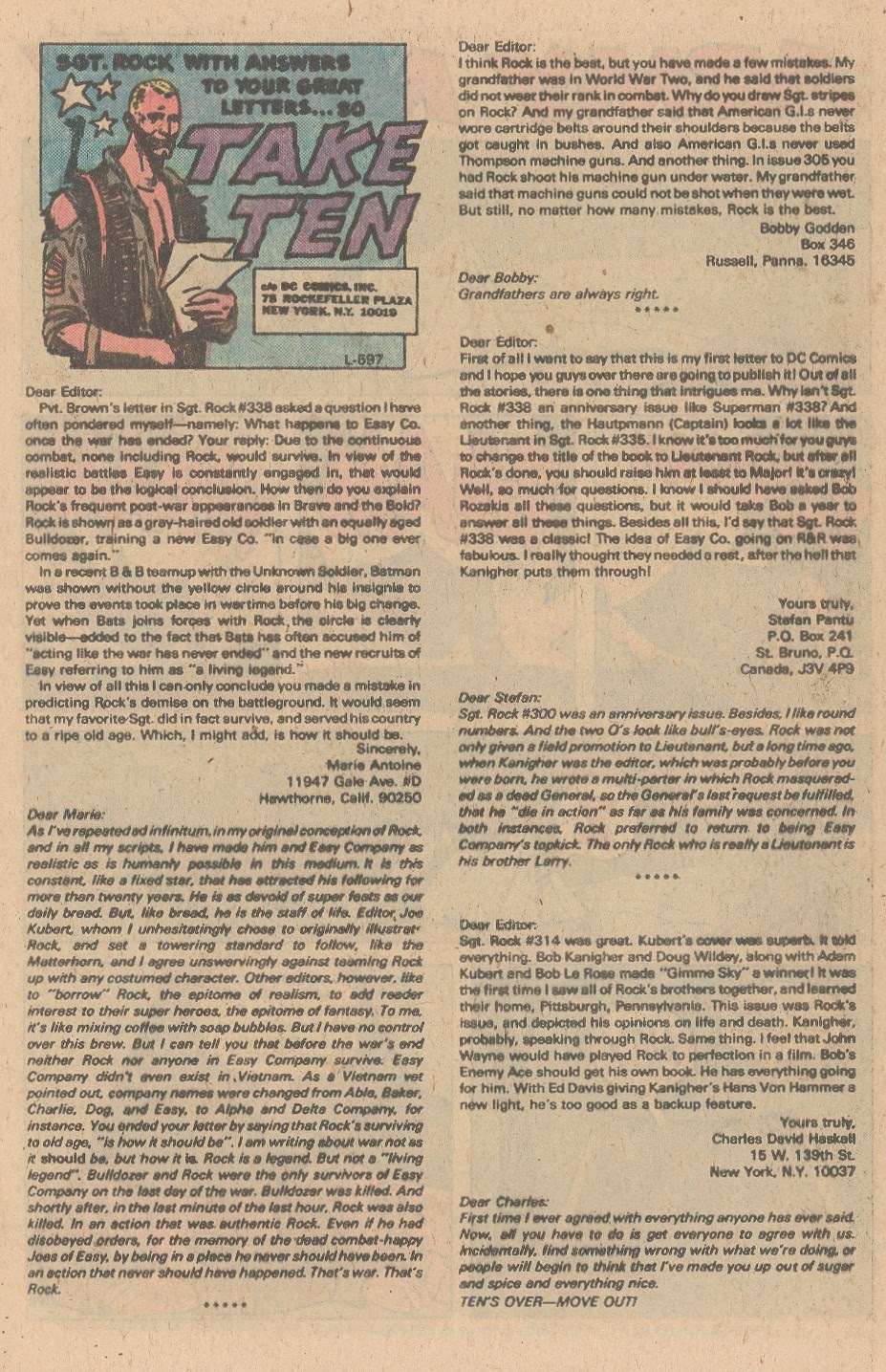 Read online Sgt. Rock comic -  Issue #347 - 13