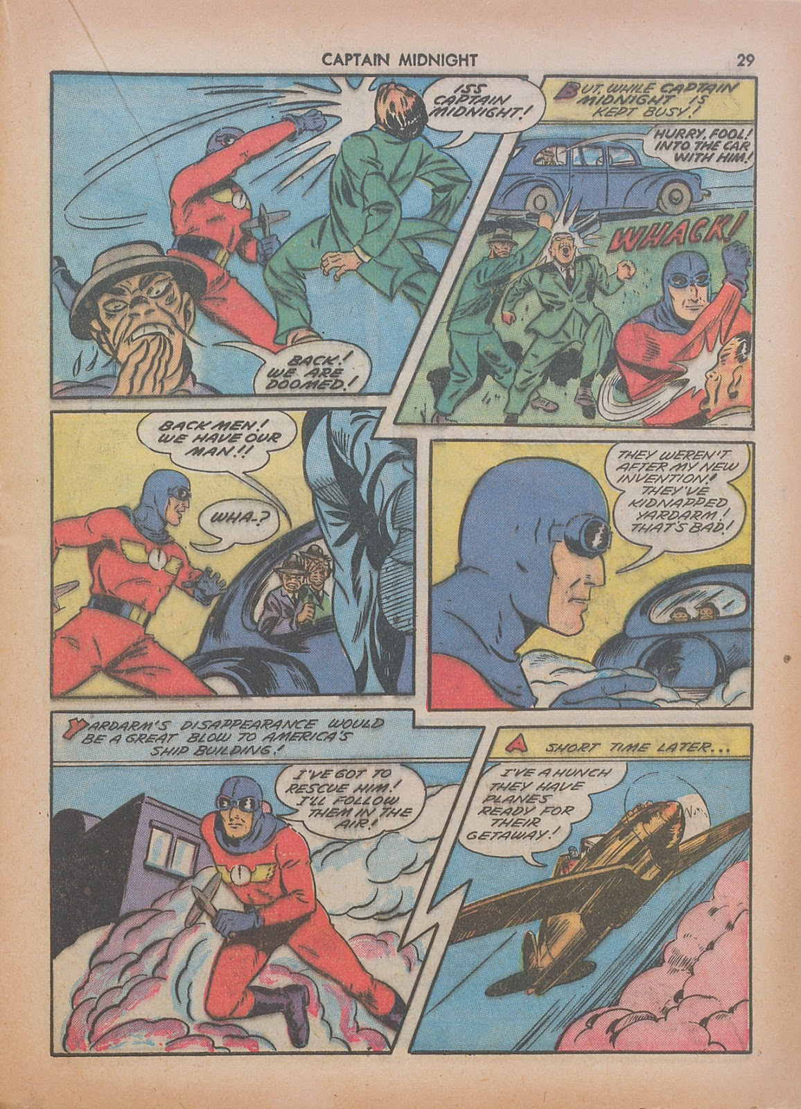 Captain Midnight (1942) issue 7 - Page 29