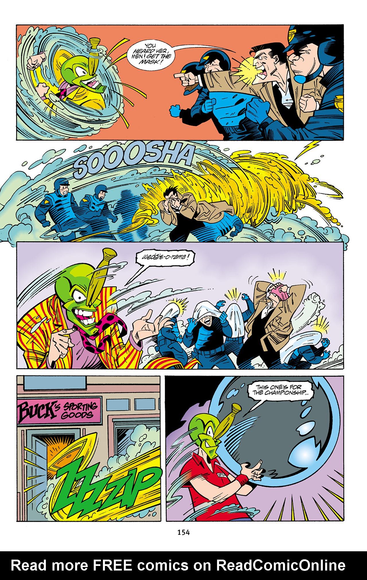 Read online Adventures Of The Mask Omnibus comic -  Issue #Adventures Of The Mask Omnibus Full - 154