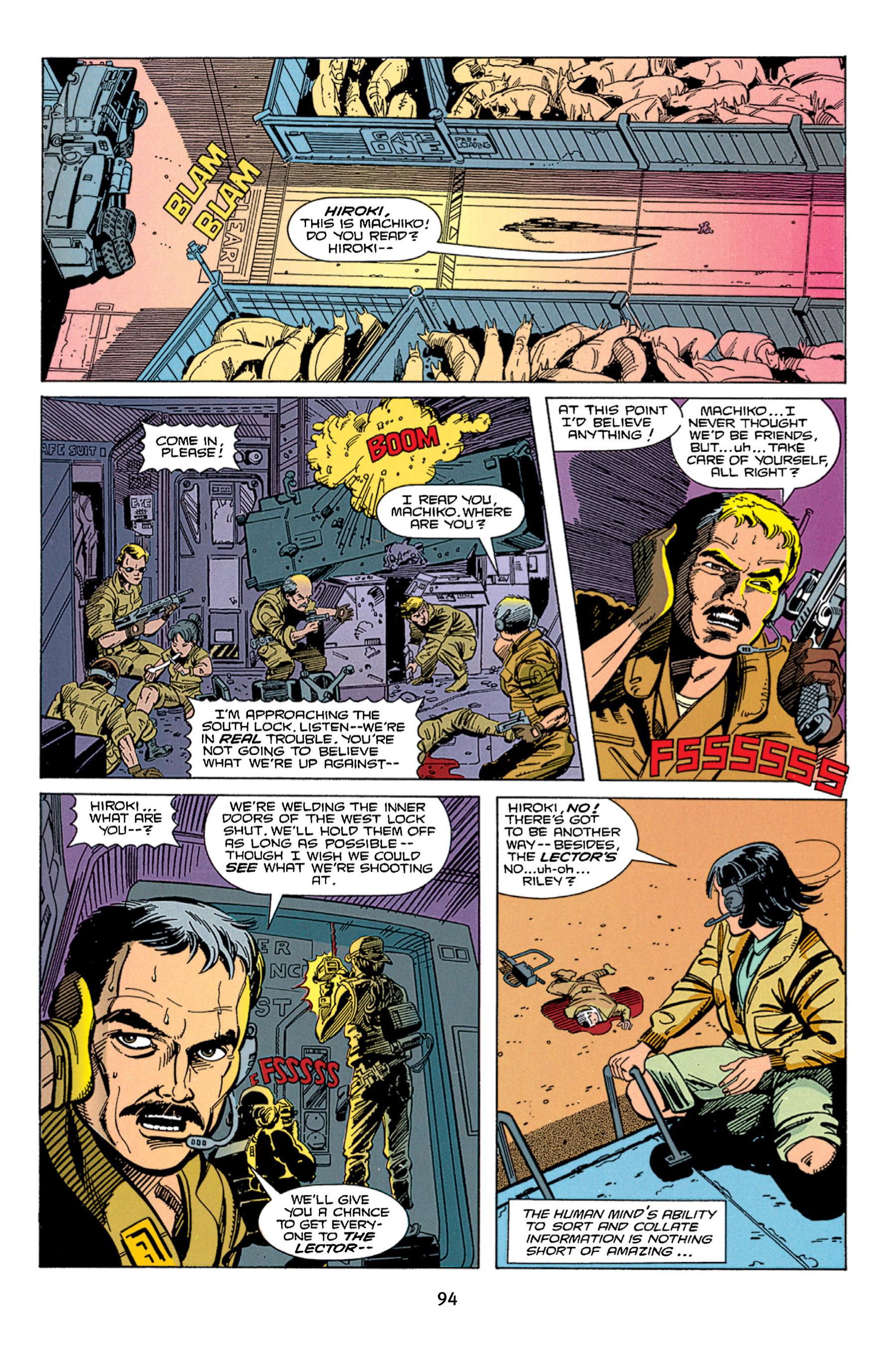 Read online Aliens vs. Predator Omnibus comic -  Issue # _TPB 1 Part 1 - 94